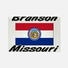Branson Missouri Rectangle Magnet