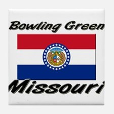 Bowling Green Missouri Tile Coaster