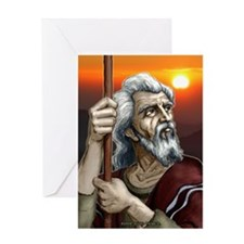 """""""The Patriarch"""" Greeting Card"""