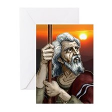"""""""The Patriarch"""" Greeting Cards (Pk of 10)"""