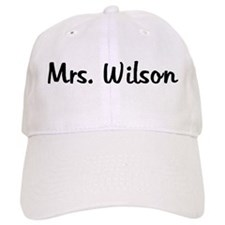 Mrs. Wilson<br /> Cap