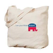 Mister RIGHT Tote Bag