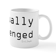 Textually Challenged Mug