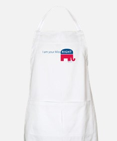 Miss RIGHT BBQ Apron