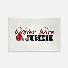 Waiver Wire Junkie Rectangle Magnet
