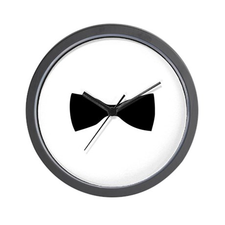 Bow Tie Wall Clock