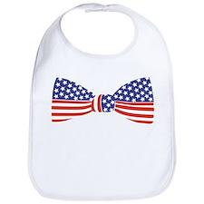 Bow Tie - USA Bib