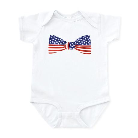 Bow Tie - USA Infant Bodysuit