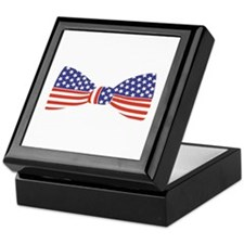 Bow Tie - USA Keepsake Box
