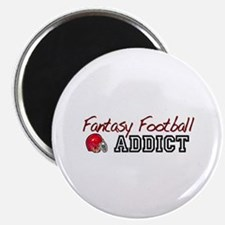 Fantasy Football Addict Magnet