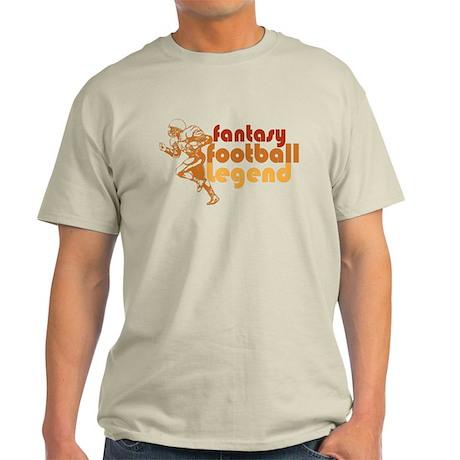 Retro Fantasy Football Legend Light T-Shirt