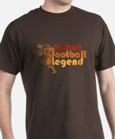 Retro Fantasy Football Legend T-Shirt