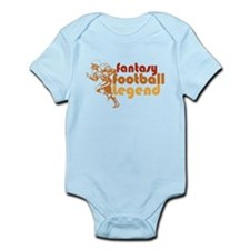 Retro Fantasy Football Legend Infant Bodysuit