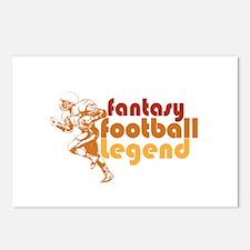 Retro Fantasy Football Legend Postcards (Package o