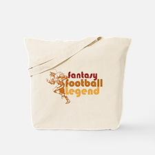 Retro Fantasy Football Legend Tote Bag