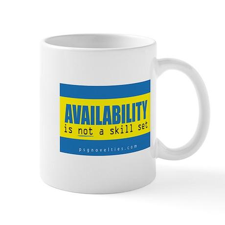 Availability Header png Mugs