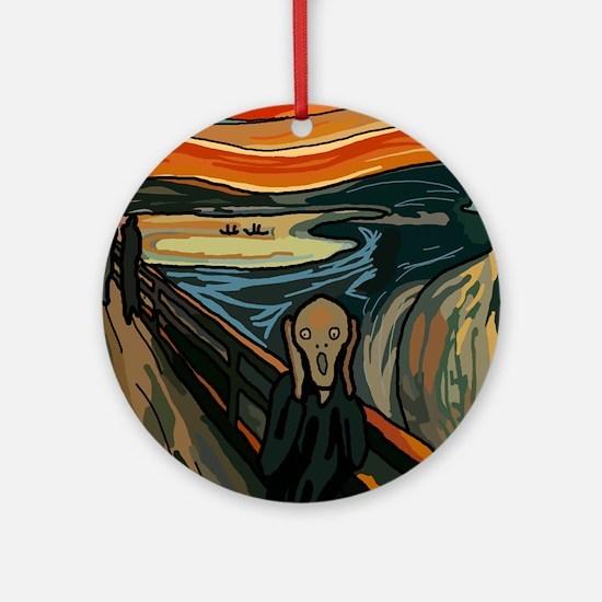 The Scream SFM - Ornament (Round)