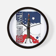 Pershing Missile ICBM Wall Clock