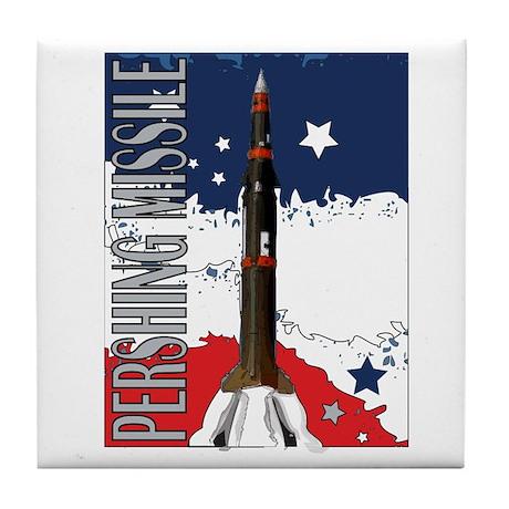 Pershing Missile ICBM Tile Coaster