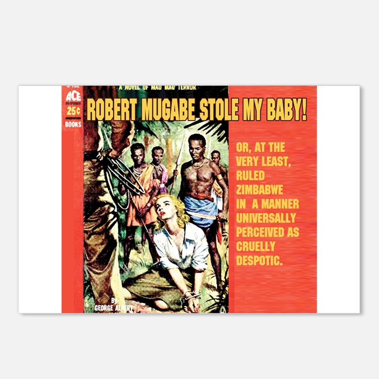 Anti-Mugabe Postcards (Package of 8)