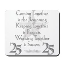 25th Anniversary Mousepad