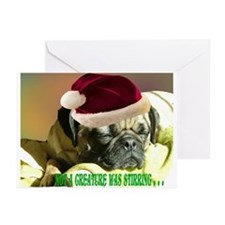 Pug Hugs Greeting Cards (Pk of 10)