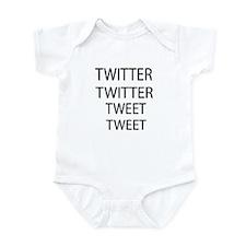 Twitter Twitter Tweet Tweet Infant Bodysuit