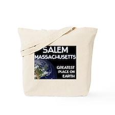 salem massachusetts - greatest place on earth Tote