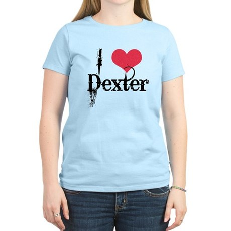 I (Heart) Dexter Women's Light T-Shirt
