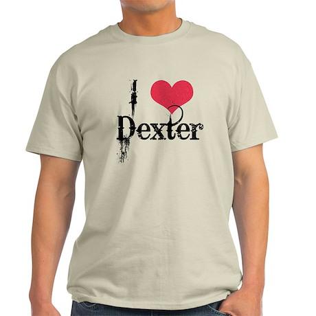 I (Heart) Dexter Light T-Shirt