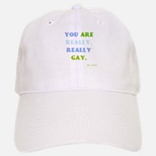Really Really Gay Baseball Baseball Cap