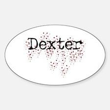 Dexter Fan Oval Decal