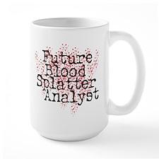 Blood Splatter Analyst (Dexter) Mug
