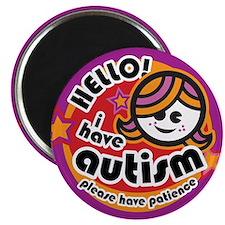 Cute Autistic advocacy Magnet