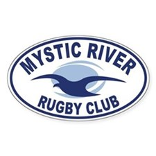 Mystic Rugby Oval Decal