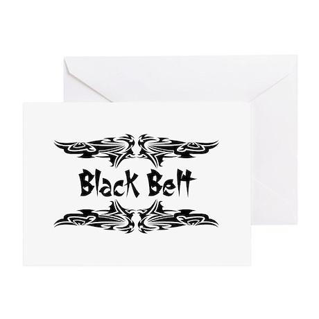 Martial Arts Black Belt Greeting Card