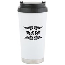 Martial Arts Black Belt Travel Mug