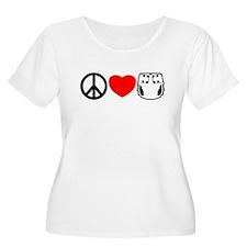 Peace, Love, Cloth T-Shirt