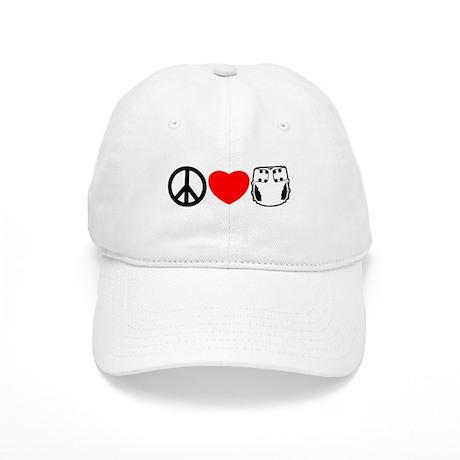 Peace, Love, Cloth Cap