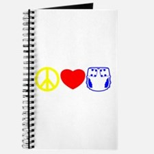 Peace, Love, Cloth Primary Journal