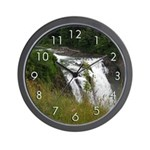 Snoqualmie Falls Day (Wall Clock)