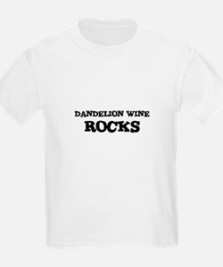DANDELION WINE ROCKS Kids T-Shirt