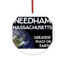 needham massachusetts - greatest place on earth Or