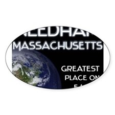 needham massachusetts - greatest place on earth St
