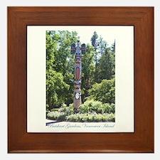 Totem Pole, BG, VI Framed Tile