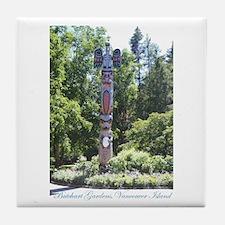Totem Pole, BG, VI Tile Coaster