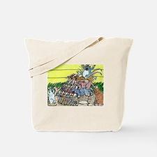 Falling Rats Tote Bag