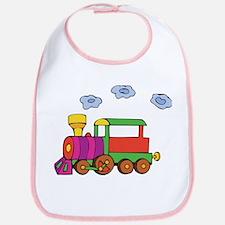 Cute Trains Bib