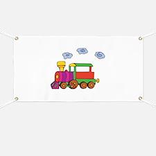 Cute Trains Banner
