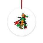 Dragon B Ornament (Round)